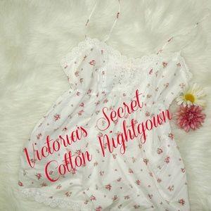 Victoria's Secret Floral Nightgown M/L